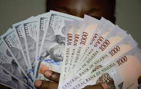 Photo of Naira in free fall to record low at official market as dollar supply drops by 54%